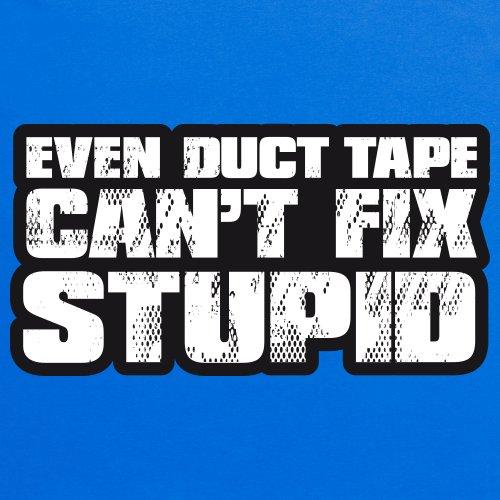 Duct Tape Can't Fix Stupid T-Shirt, Damen Royalblau