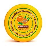 Carrot Sun® Papaya Tan Accelerator with L-Tyrosine, Papaya Oil, & Henna for a GOLDEN tan-FAST! 350ml