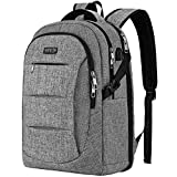 Travel Laptop Backpack, TSA Anti-Theft Business Laptop Backpack Bag with USB Charging Port