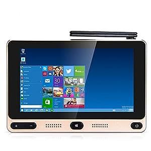 Joyhero GOLE1 Super Mini PC 5 Pollici Schermo Tattile TV Box 1280 x 720 Pixels con Intel Cherry Trail Z8300 Quad-core fino a 1.84GHz Windows 10/Android 5.1 BT 4.0 4GB RAM + 32GB ROM