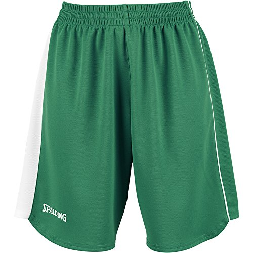 Spalding 4HER II Shorts Basketballshorts Damen grün grün-weiß, S (36)