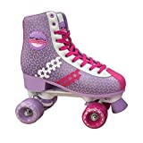 Park City Girls 'Stars Quad Pattini a rotelle, Ragazza, 0017104T36, Pink, Size UK 3 - EU 36