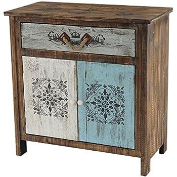 Kleinmöbel, FG.A28 Kommode Teeschrank, Holz Telefontisch