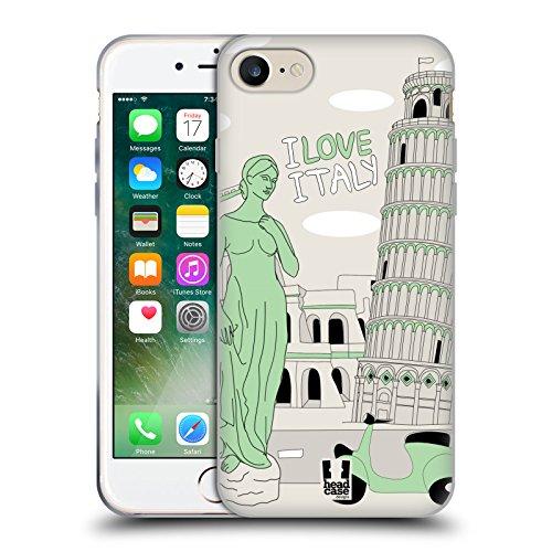 Head Case Designs Piano T Rex Dino Musikeros Cover Morbida In Gel Per Apple iPhone 7 / iPhone 8 Italia