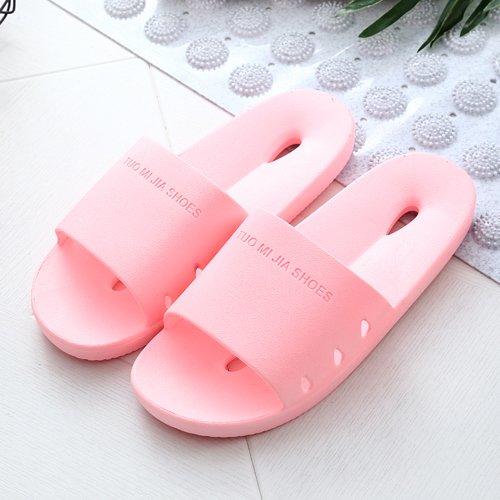 DogHaccd pantofole,Il bagno pantofole donna estate home soggiorno con una piscina slip coppie in bagno di acqua fredda giapponese pantofole Rosa chiaro3