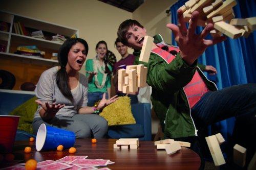 Hasbro Spiele A2120E24 - Jenga Classic, Kinderspiel -