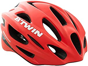 Btwin RoadR 500 Cycling Helmet - Red