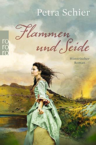 Buchseite und Rezensionen zu 'Flammen und Seide' von Petra Schier