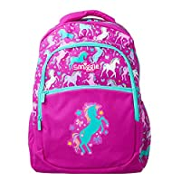 Smiggle Kids School Backpack with Three Zipped compartments for Boys and Girls from The Deja Vu Collection
