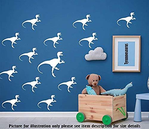 Tyrannosaurus T-Rex Dinosaurier Wandaufkleber, Dino Set Wandtattoo Spielzimmer Kinderzimmer Dekor, Jurassic Design Kinderzimmer Wandaufkleber - Spielzimmer-set