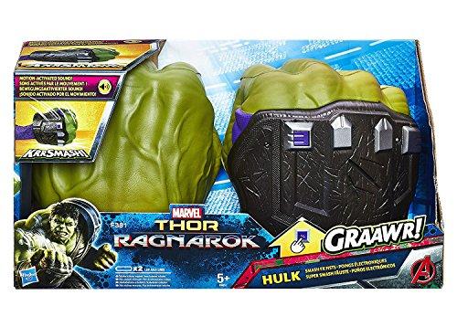 Kostüm Hulk Riesen - Hasbro Avengers B9974EU4 - Hulk Super Smash Fäuste, Verkleidung