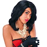Burlesque Perücke sexy Damenperücke schwarz