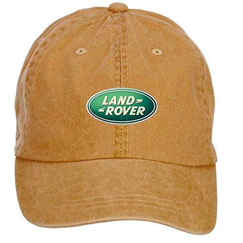 UUOnly Fengting Land Rover Logo Baseball-Mütze aus Baumwolle mit verstellbarem Klettverschluss One Size ColorName Hats Caps -