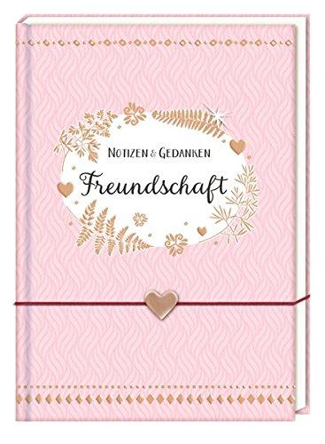Notizbuch mit Freundschaftsband - Freundschaft: Notizen & Gedanken