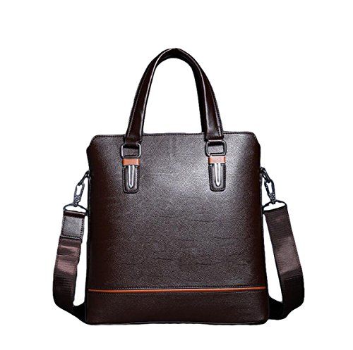 Männer Messenger Bag Umhängetasche Bundle Computer Taschen Business Taschen Aktenkoffer Lift Handtasche Casual Fashion Brown4