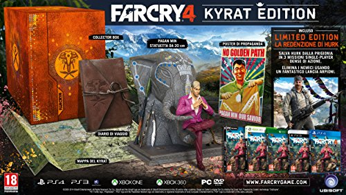 UBISOFT FAR CRY 4 KYRAT EDITION PER PS4 VERSIONE ITALIANA