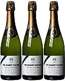 Bouvet Ladubay Pol Robert Thomas Blanc de Blancs Brut - Cremant de Loire A.C, 3er Pack (3 x 750 ml)