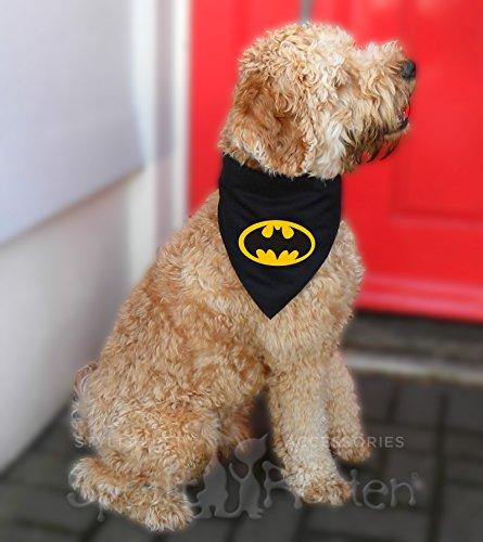Spoilt Rotten Pets Bat Dog. Medium Größe Super Hero Cape für Ihr Wachhund. Verstellbarer Hals Größe ()