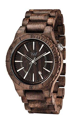 Wewood Assunt Choco Rough Wassuntchoc unisex bracciale elastico orologio cioccolato