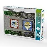Ein Motiv aus dem Kalender Camino del norte - Wegzeichen 1000 Teile Puzzle hoch (CALVENDO Orte)