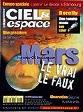 ciel espace no 378 du 01 11 2001 europe spatiale l avenir se decide a edimbourg borelly une comete devoile son coeur une premiere le berceau d un trou noir mars le vrai le faux observation saturne au plus pres