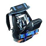 Heytec 50810525000 Assortiment pour couvreur dans sac à dos, Argent/noir/bleu, Set de 50 Pièces