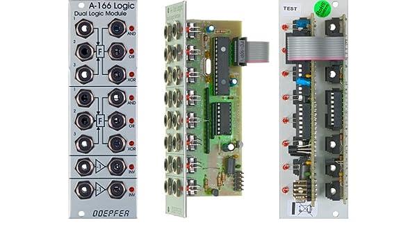 Laser Entfernungsmesser Modul : Doepfer a dual logic module eurorack modularsysteme trigs und