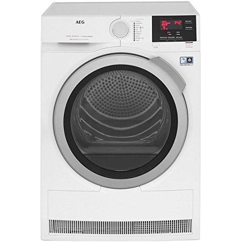 AEG 8000 Series T8DBG842R Heat Pump Tumble Dryer White