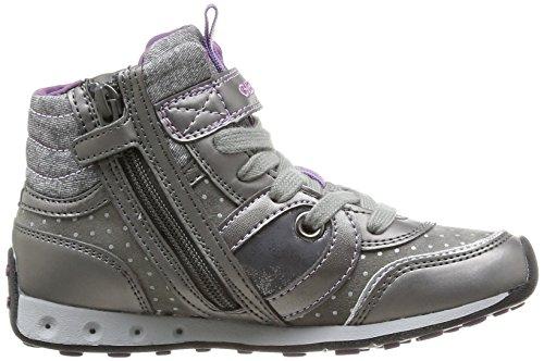 Greyc9002 New Jr Jocker Grau Sneakers Mädchen dk Girl Geox 8qpZTxAx