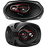 #2: Pioneer - TS-R6950S - 6 x 9 Inch Shallow Mount 3-Way Speaker (300 W)