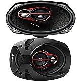 #7: Pioneer - TS-R6950S - 6 x 9 Inch Shallow Mount 3-Way Speaker (300 W)