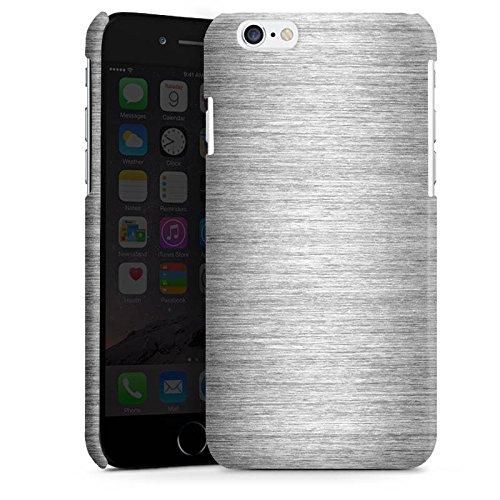 Apple iPhone 5 Housse Étui Silicone Coque Protection Metal Look argent Paillettes Métal Cas Premium brillant