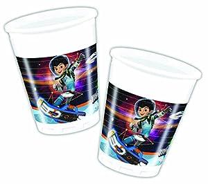 Unique Party Miles From Tomorrowland Vasos de plástico, 8unidades, 200 ml