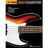 Hal Leonard: Cahier De Musique Basse (Standard/Tablatures). Pour Guitare Basse