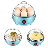 Impressive New Multi colour Unique Mini Electronic Egg Boiler 7 Egg Cooker