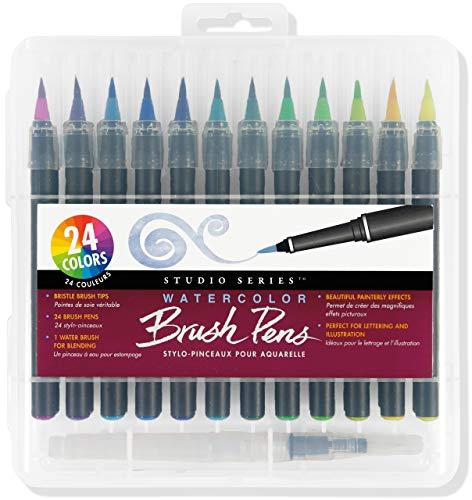 Studio Series Watercolor Brush Marker Pens (set