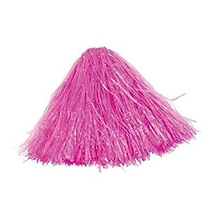 Desconocido Bristol Novelty - Pompón de animadora (tamaño pequeño)  color rosa