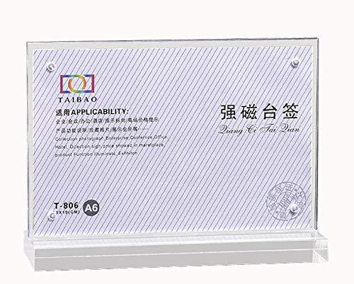 KUNSE 10x15Cm Photo Bank Note Geld Halter Acryl-Frame-Währung Anzeige Dollar-Frame-Geschenke