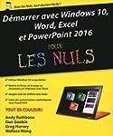 D�marrer avec Windows 10, Word, Excel...