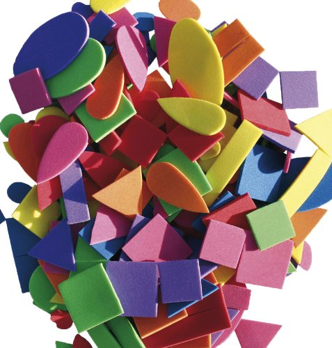 Goma eva de colores y formas