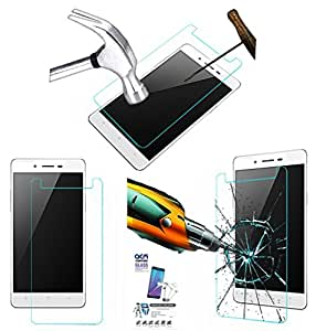 ACM Tempered Glass Screenguard for Oppo Mirror 5 Mobile Screen Guard Scratch Protector