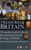 Front cover for the book Treasures of Britain by Automobile Association (Great Britain)