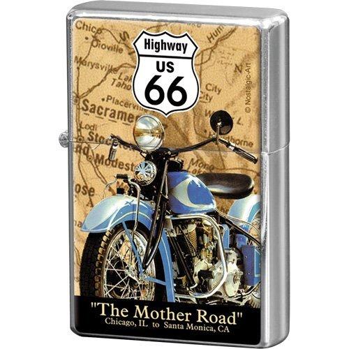 Nostalgic-Art 80233 - Mechero, diseño de la Ruta 66