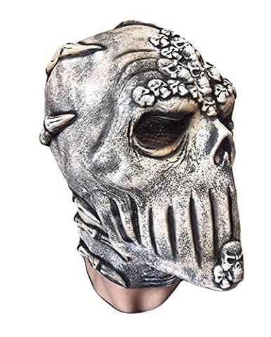Skeleton Skull Mask by Rubber Johnnies, Latex, Day Of The Dead, Dia De Los Muertos, Slipknot, Voodoo Bond