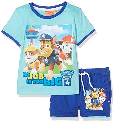 Nickelodeon Jungen Sportswear-Set Paw Patrol Blau, 2-3 Jahre (Pyjamas 2 Jungen Stück Pjs)