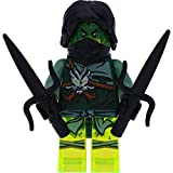 LEGO Ninjago Minifigur Morro aus Set 70743 mit 2 GALAXYARMS Waffen