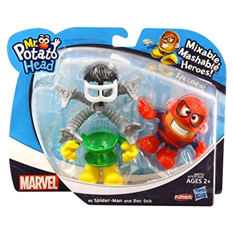 Marvel Comics [Mini Mr. Potato Head] Jeu de DX / Spider-Man et le Docteur Octopus
