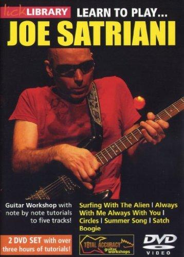 Learn To Play Joe Satriani (2 Dvd) [Edizione: Regno Unito]