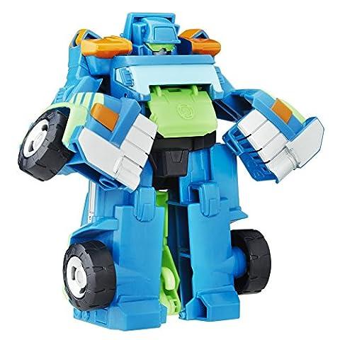 Camion Playskool - Playskool Heroes Bots Transformers sauvetage Rescan Hoist