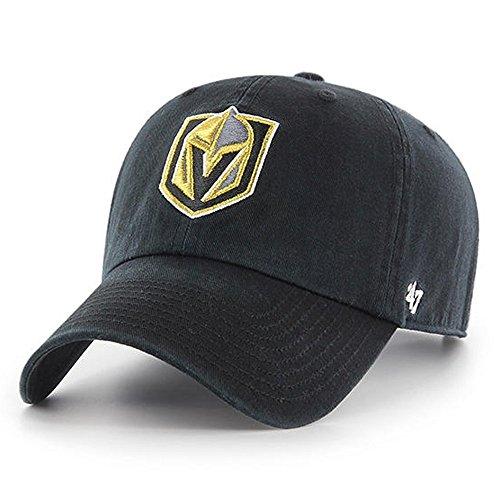 e2c767b878211 47 Brand NHL Las Vegas Golden Knights Clean Up réglable Chapeau